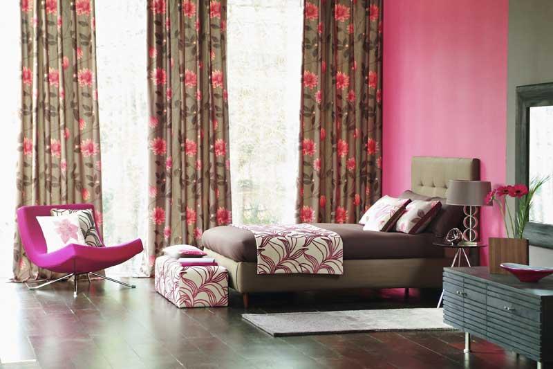 drapes-floral